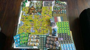 Содержание коробки M&M- Boardgame