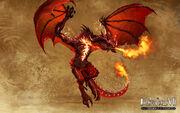 Красный дракон - H7 - арт