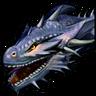Сумеречный дракон-иконка