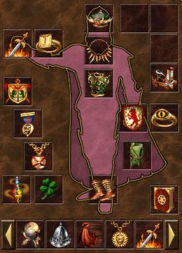 Артефакты на герое (H3)