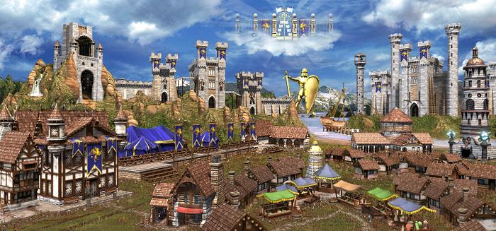 Замок - H3 - общий вид