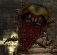 Гигантский червь-пасть