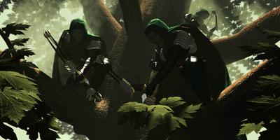 Лесные тени - заставка