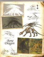 Костяной дракон-H5-концепт-арт