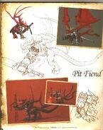 Пещерный демон-H5-артбук