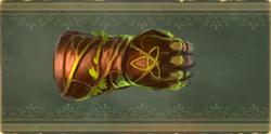 Виноградные перчатки