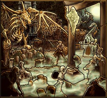 Карта-загадка - Некрополис H3