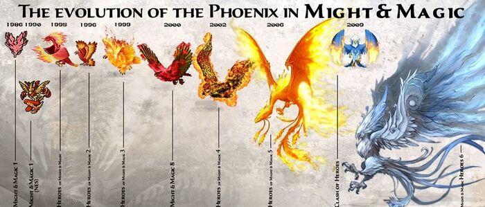 Фениксы - эволюция