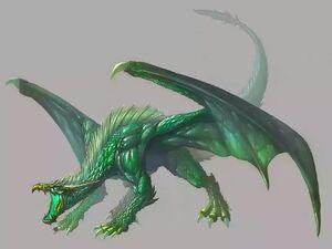 Зеленый дракон2