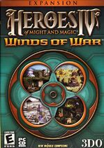 Heroes of Might and Magic IV WoW box