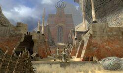 Остров Храма - руины некрополиса
