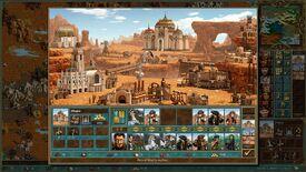 HotA - экран города - предварительная версия