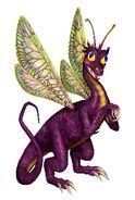 Сказочный дракон - H3 - арт