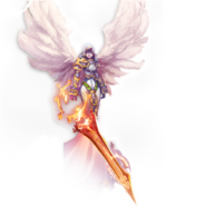 Might and Magic Raiders-ангел