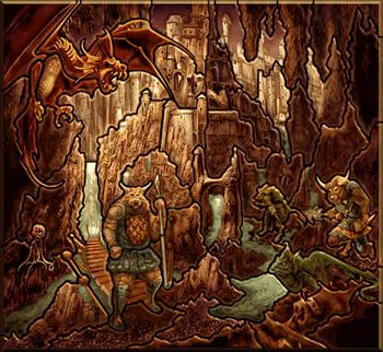 Карта-загадка - Подземелье H3