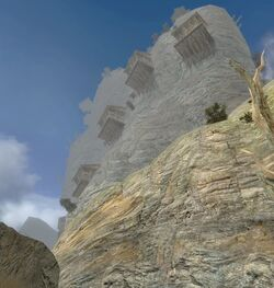 Остров Храма - деревянные постройки