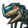Тёмный всадник-иконка