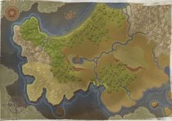 Полуостров Эгин - MM X - карта