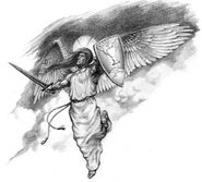 Ангел-концепт-арт (HoMM III)