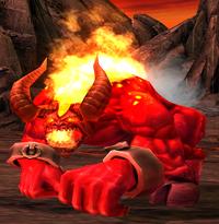 Огненный демон - старая модель