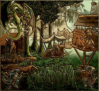 Карта-загадка - Крепость H3