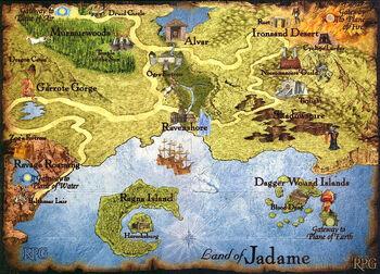 Джэдэйм - карта