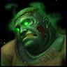 Чумной зомби-иконка