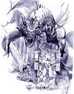 Лазурный дракон (концепт-арт)