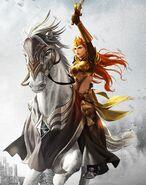 Катерина на коне