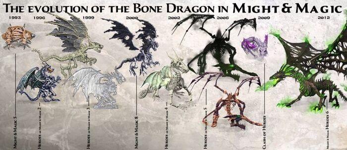 Драконы-нежить - эволюция