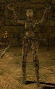 Персонаж под каменной кожей