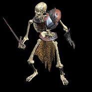 Скелет - H4 - арт