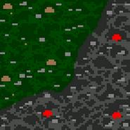В поисках клинка - карта (поверхность)