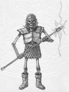Скелет (HoMM III)-концепт-арт