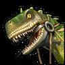 Наездник на ящере-иконка