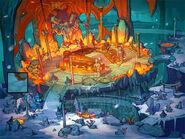 Might and Magic Raiders-концепт-арт локации