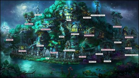 Лесной Союз H7 план города