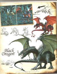 Чёрный дракон-H5-артбук