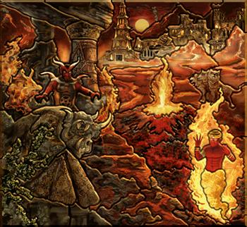 Карта-загадка - Инферно H3