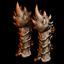 Поножи из кости дракона