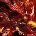 Красный дракон-иконка-H7