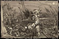 Нападение орков на Воронов