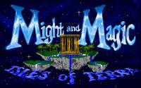 MM III - заглавный экран