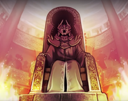 Бладкраун на троне