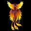 Накидка из перьев феникса