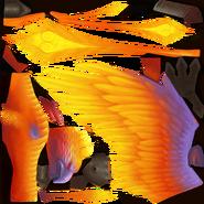 Текстура огненной птицы - H5
