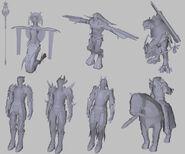 Модели многих существ