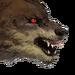 Свирепый волк-иконка-H7