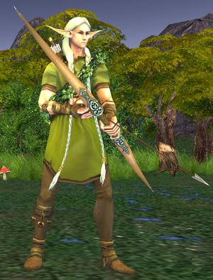 Эльфийский лучник