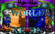 World of Xeen-главное меню